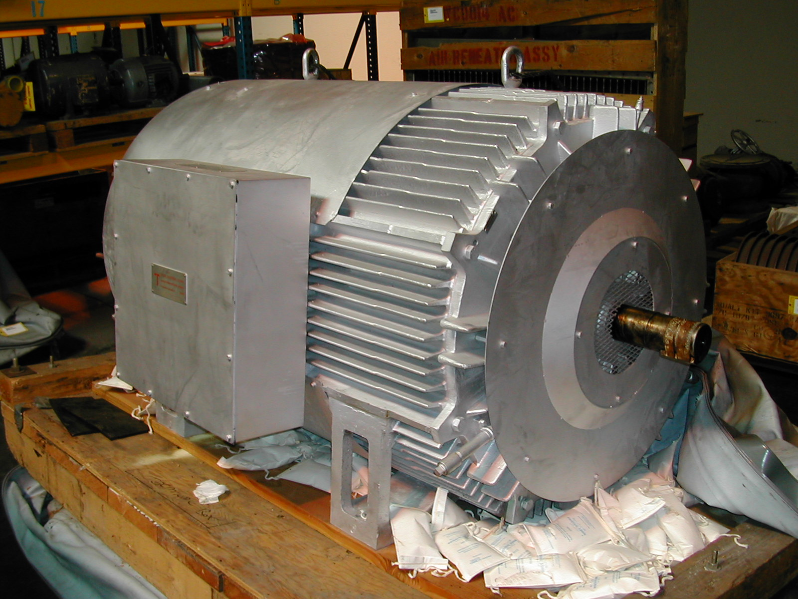 450 Hp Ac Electric Motor Two Speed Two Winding Frame 884
