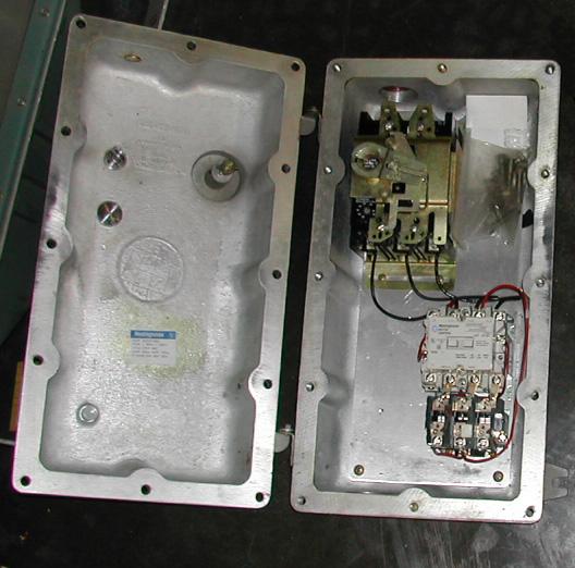 Westinghouse size 1 magnetic starter nema 7 enclosure u for Hazardous location motor starter