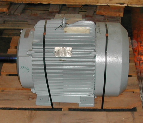 60 Hp Ac Electric Motor U S Combustion Products Inc